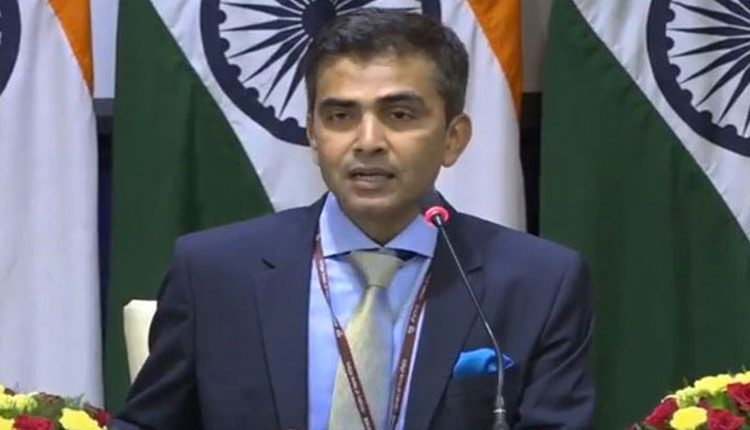 India Condemns Provocative Statements Against It By Imran Khan