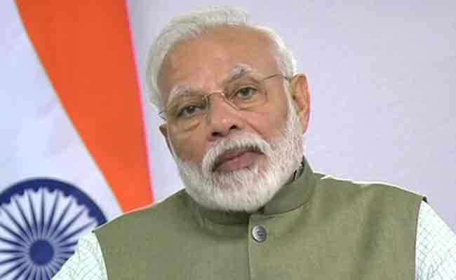 PM Narendra Modi at SAARC Summit Video Conference For Coronavirus