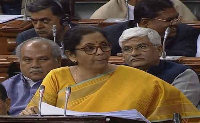 FM Nirmala-Sitharaman