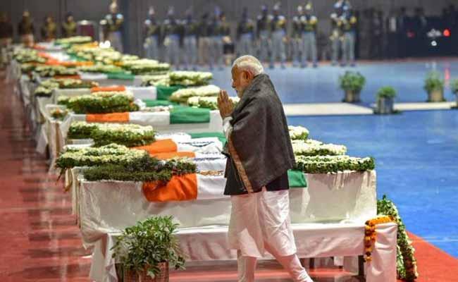 : PM Modi Pays Tribute To Slain CRPF Personnel