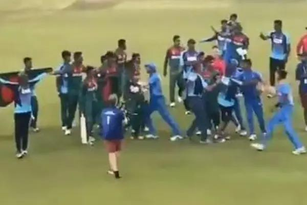 Unsavoury Incidents After U-19 WC Final