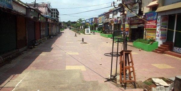 Odisha Empty Amid COVID-19 Lockdown