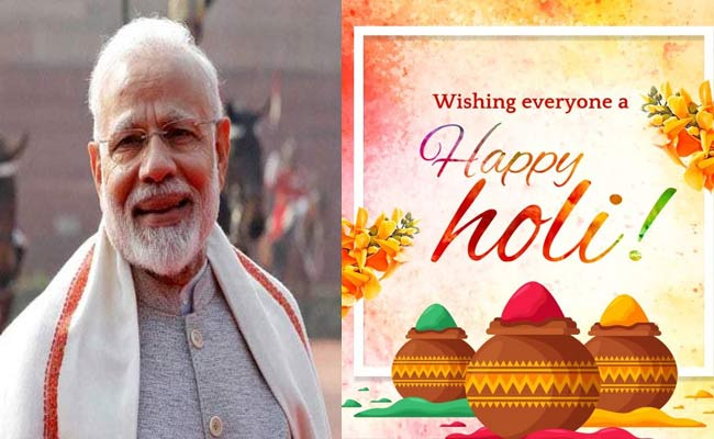PM-Modi wishes on Holi
