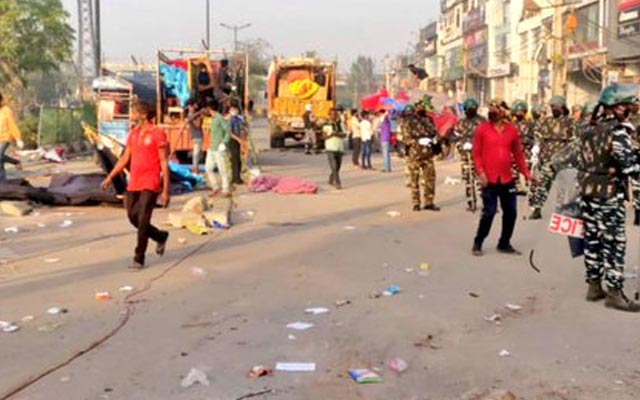 Shaheen-Bagh protest site cleared