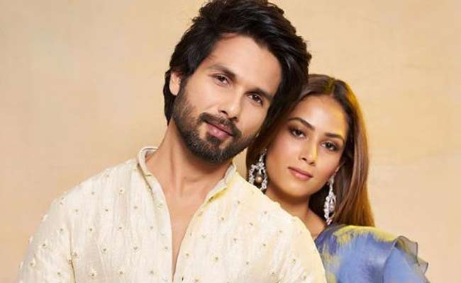 Shahid Kapoor with Mira Rajput gym workout