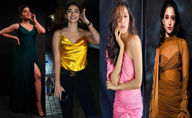 Rashmika Mandana, Pooja Hegde, Kiara Advani, Tamannaah Bhatia hot pics