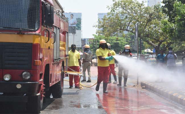 covid-19 disinfection drive in odisha