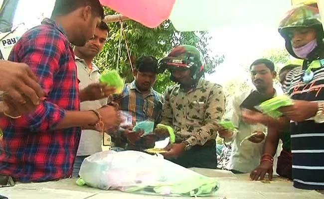 sell of masks in Bhubaneswar for coronavirus