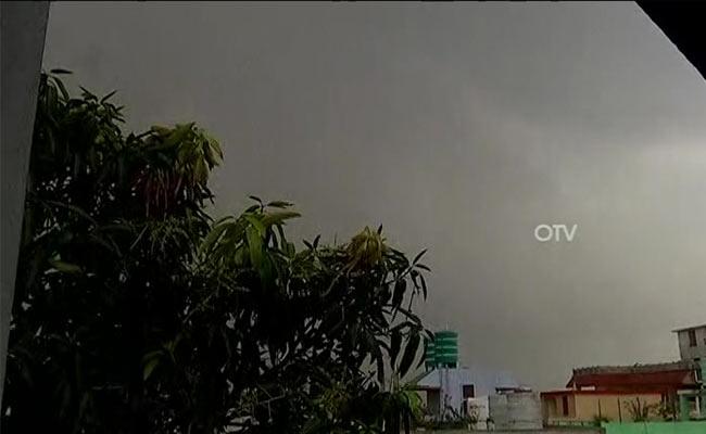 heavy rainfall alert issued for Odisha