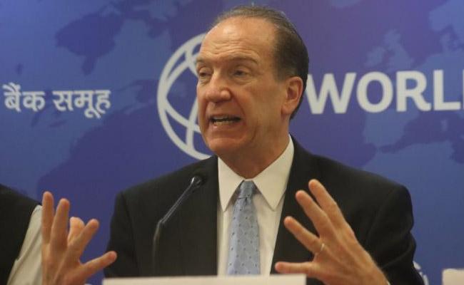 World Bank Group President David Malpass