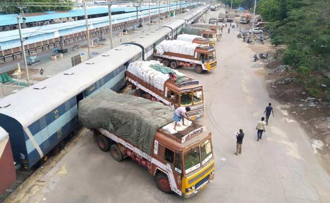 COVID19 Lockdown: ECoR Transports Essential Goods In Odisha