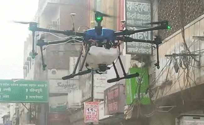 Now, Garuda drones to disinfect Rourkela, Mumbai and Mohali