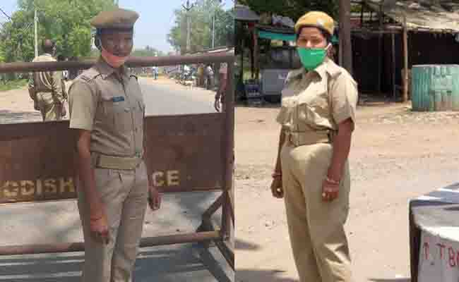Duty Calls- 2 Sundergarh Lady Constables Postpone Their Marriage To Perform COVID-19 Duty