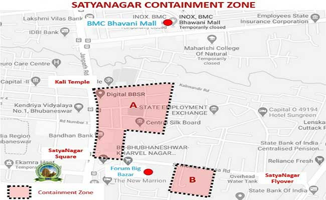 Satya Nagar area in Bhubaneswar declared COVID-19 containment zone