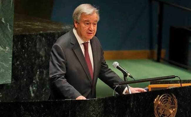 UN-Chief calls for Security council Unity
