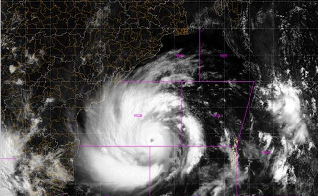 Amphan To Hit Coast As Very Severe Cyclone