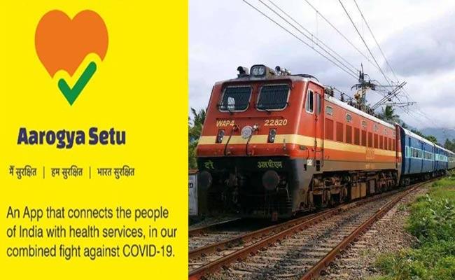 COVID-19: Aarogya Setu App Mandatory For Railway Passengers