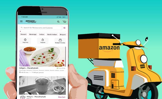 Amazon Food Launched In India, Set To Give Tough Competition To Zomato, Swiggy