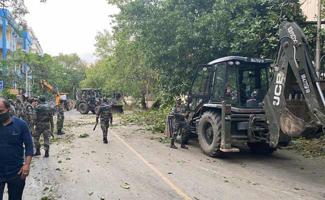 Army Sends Five Columns To Bengal For Cyclone Amphan Relief Operations
