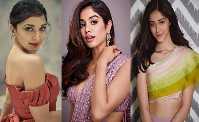 Kiara Advani, Janhvi Kapoor, Ananya Panday