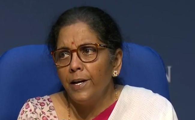 Nirmala Live on economic package