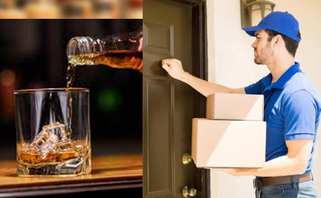 Home Delivery of liquor through OSBC Website