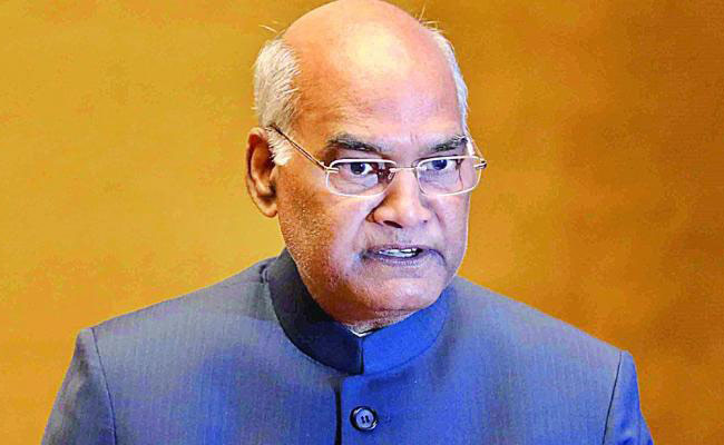 PM CARES Fund: President Ram Nath Kovind To Forego 30% Salary For One Year
