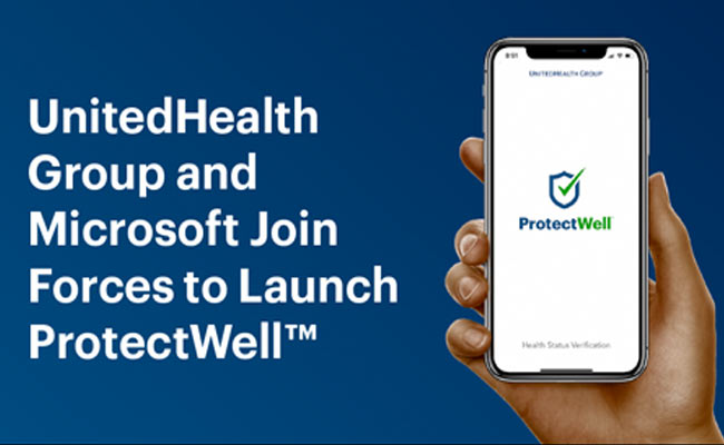 ProtectWell COVID-19 screening app