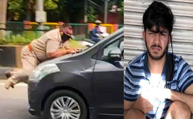 Cop Dragged On Car Bonnet In Jalandhar, Driver Held
