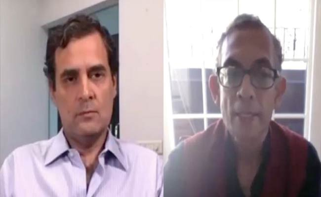 India should put in large enough stimulus package to revive demand: Abhijit Banerjee to Rahul Gandhi