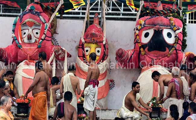 Deba Snana Purnima on June 5 with less servitors
