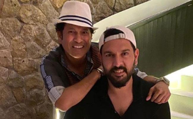 Sachin Tendulkar Stumps Yuvraj Singh With His New Twist