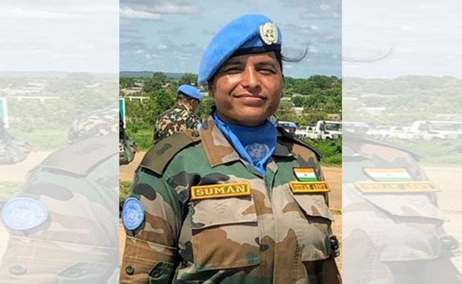 Major Suman Gawani Gets UN Award