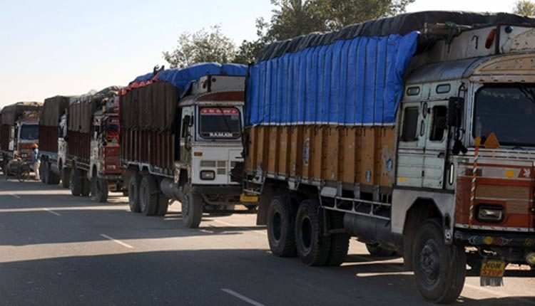 Trucks carrying PPE kits stranded as Odisha govt
