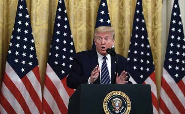 WHO should be ashamed of itself, it is like a PR agency for China: US Prez Donald Trump