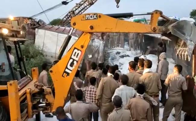 UP road accident