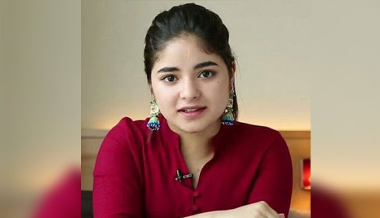 Zaira Wasim Is Back On Social Media After Quitting It Over Backlash
