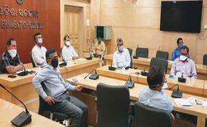 cyclone amphan review meeting odisha