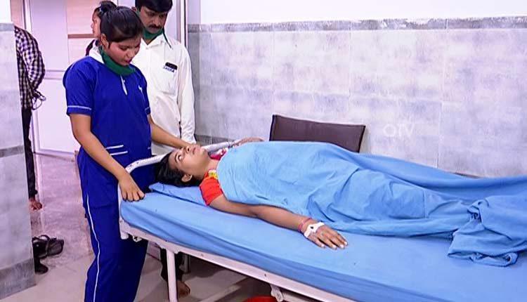 gauze left inside patient's body removed