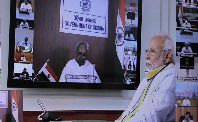 PM Modi video conference with Odisha CM Naveen Patnaik Covid19