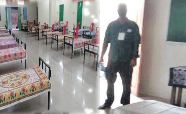 Odisha COVID quarantine Centre
