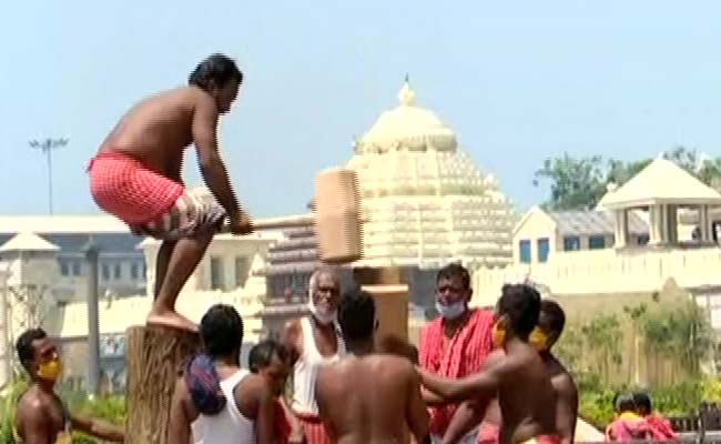 Rath Yatra 2020: Orissa High Court Asks Govt To Complete Chariot Construction By June 22