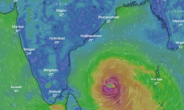 Deep Depression Over BoB Intensifies Into Cyclone Amphan