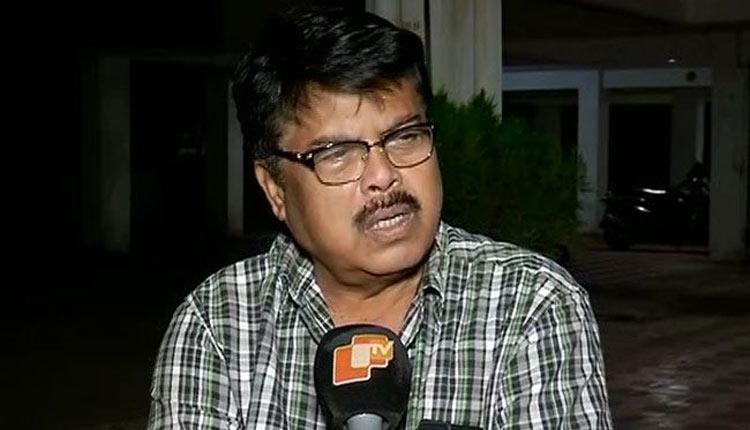 Bijay Mohanty reaches Bhubaneswar