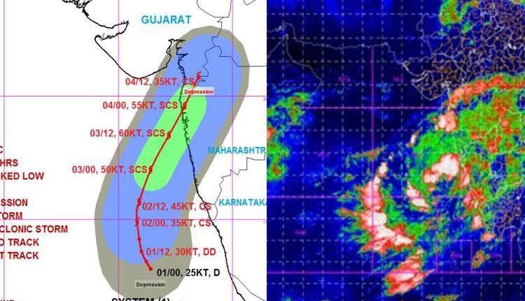 Cyclone Nisagara Maharashtra and Gujarat on alert