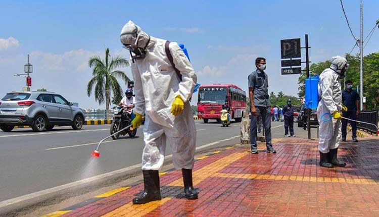 COVID-19 Fight: India To Use Israeli Disinfectant To Safeguard Public Places