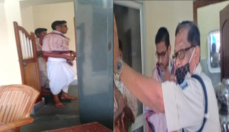 fake servitors enter Gundicha Temple in Puri