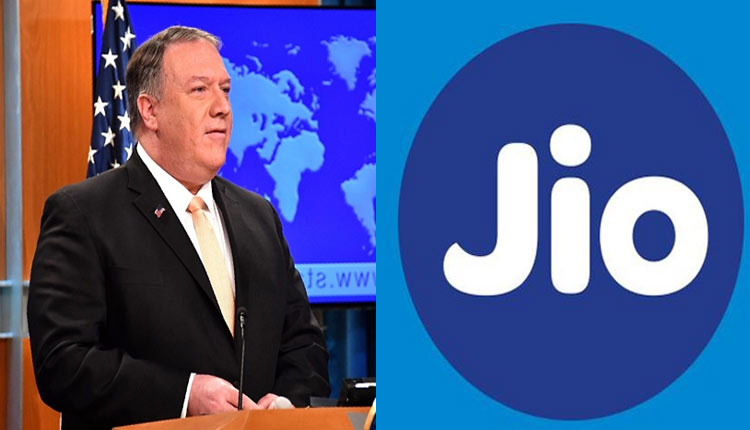 US Secretary Of State Pompeo Endorses Jio As Alternative For Chinese Huawei