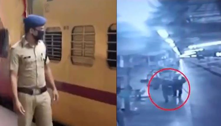 RPF Constable Wins Hearts, Runs Along Moving Train To Give Milk For Infant
