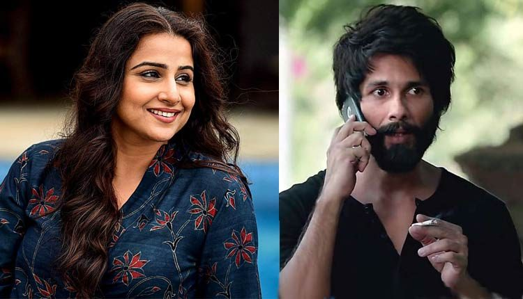 Vidya Balan Reconnects With Ex-BF Shahid Kapoor After Watching Kabir Singh; Here's Why (Watch)